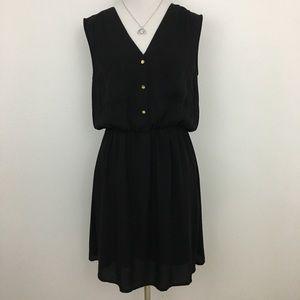 🆕 H&M   Black Staple Sleeveless Dress